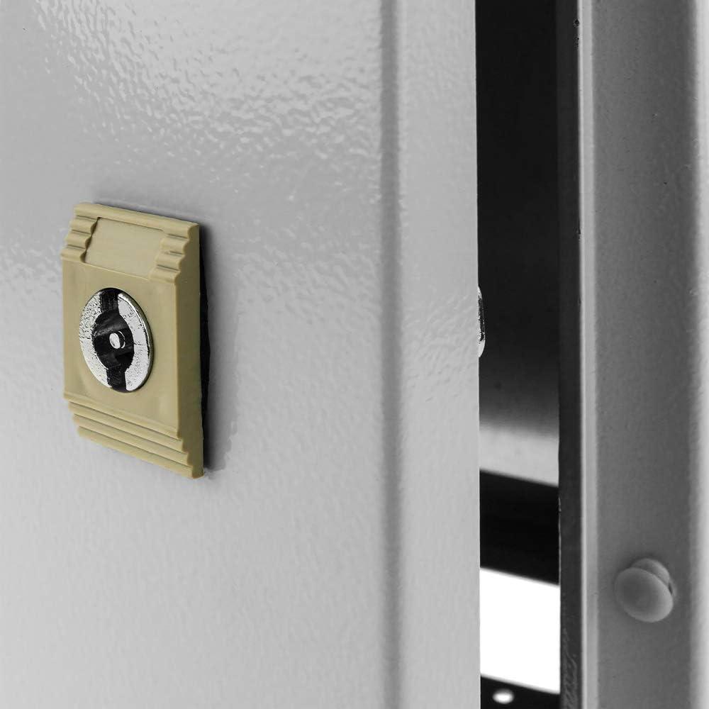 Coffret /électrique en m/étal avec Protection IP65 pour Fixation au Poteau 400 x 500 x 200 mm BeMatik