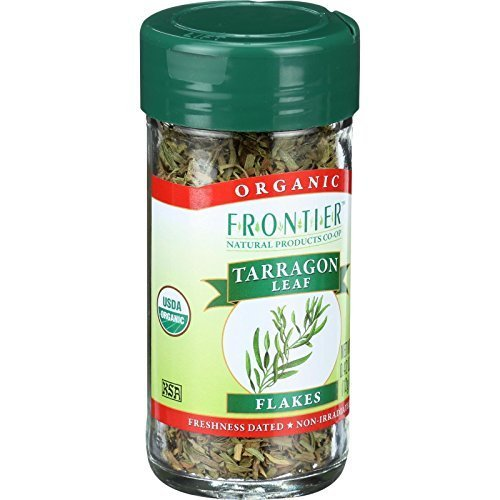 Frontier Herb Organic Cut and Sifted Tarragon Leaf, 0.4 Ounce - 6 per case by Frontier