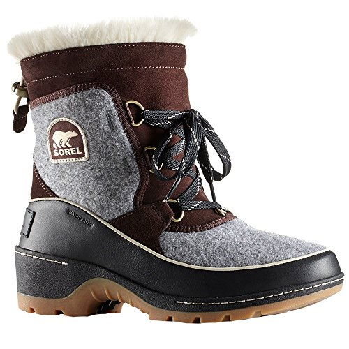 Sorel Women's Tivoli III Cattail/Quarry Suede/Felt Combination 10 B US B (M) ()