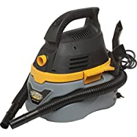 Stinger 2.5 Gallon Wet/Dry Vacuum 1.75 HP, 3.4 Amp Emerson Motor - Converts Into A Blower To Clear Debris - Dent Resistant Plastic Tank - 10 Power Cord 4 Hose With Wide Crevice Tool And Utility Nozzle Filter Included (Shop Tool)