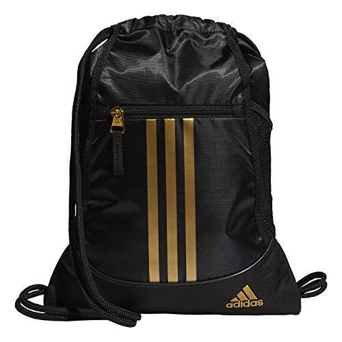 adidas Unisex Alliance II Sackpack, Black/Gold, ONE SIZE from adidas