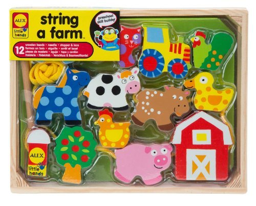 ALEX Toys Little Hands String A Farm by ALEX Toys