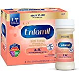 Enfamil A.R. Infant Formula - Clinically Proven to reduce Spit-Up in 1 week - Ready to Use Nursette Bottles, 2 fl oz (6 count)