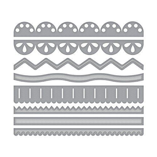 Spellbinders Shapeabilities Sew Sweet Trims by Tammy Tutterow Etched/Wafer Thin Dies by Spellbinders