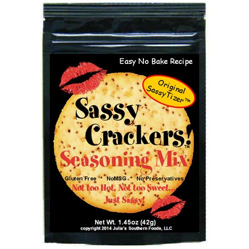 Sassy Crackers Seasoning Mix Original 4 Pack