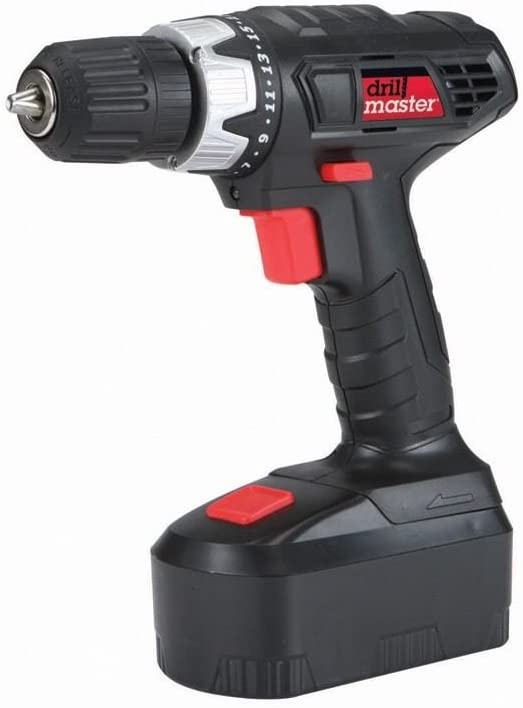 18 Volt Cordless Drill driver 3 8 In. With Keyless Chuck Drillmaster