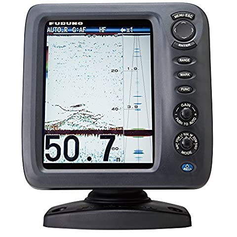 Furuno FCV588 Color LCD, 600/1000W, 50/200 KHz Operating Frequency Fish Finder without Transducer, (Echo Zoom Scope)