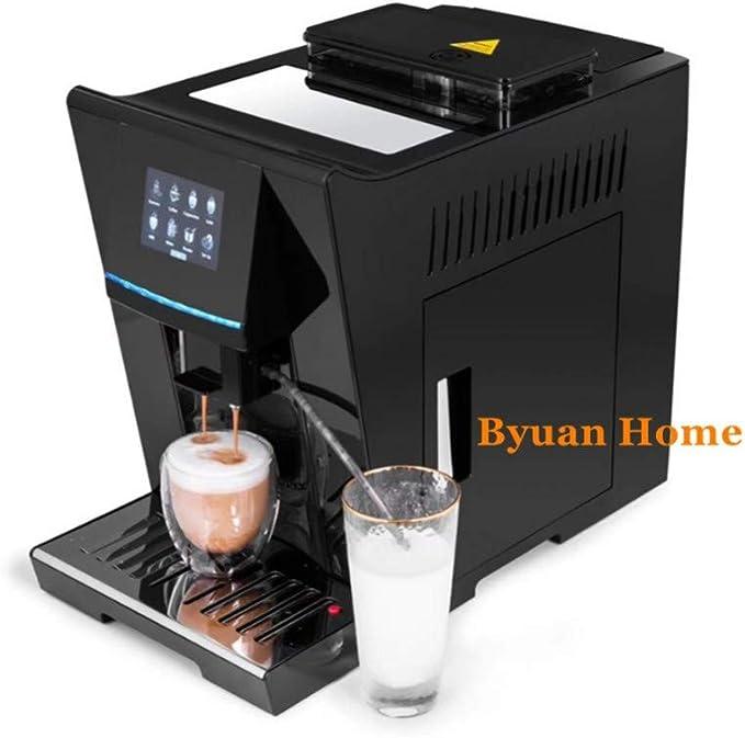KOUDAG Cafetera Nuevo Sistema de Calor de Doble Caldera de un Toque Máquina de café Espresso LCD Completamente automática y Molinillo de café 19 Bar Capuchino/cafetera: Amazon.es: Hogar