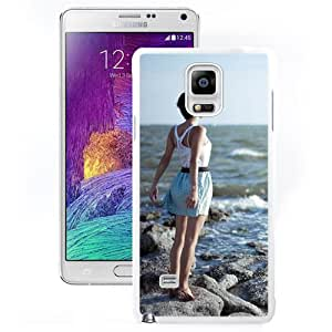 Deep Breathing (2) Hard Plastic Samsung Galaxy Note 4 Protective Phone Case