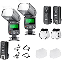 Neewer® Pro NW670 E-TTL Photo Flash Kit pour Canon Rebel