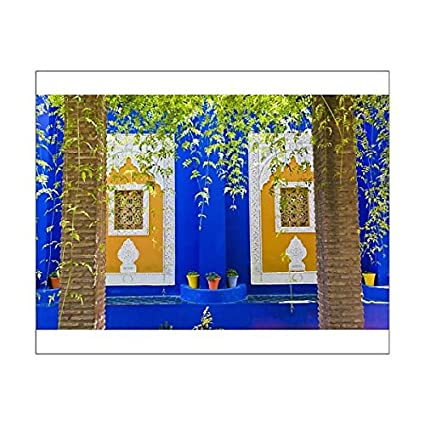 f52c344d58c 10x8 Print of Majorelle Gardens (Gardens of Yves Saint-Laurent), Marrakech,  Morocco, North (8732139): Amazon.co.uk: Kitchen & Home
