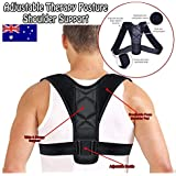 Posture Corrector for Men and Women Adjustable Clavicle Brace to Correct Bad Posture Prevent Slouching Relieves Neck, Back and Spine Pain