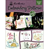 Aunt Martha's 401 European Delights Embroidery Transfer Pattern Book, Over 25 Iron On Patterns