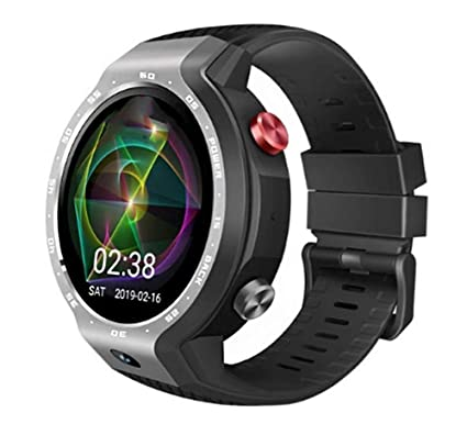 Fitness Tracker 4G Android LTE Smart Watch Phone 7.1.1 Sistema 5MP ...