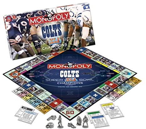 Amazon.com: Super Bowl XLI Colts Monopoly: Toys & Games