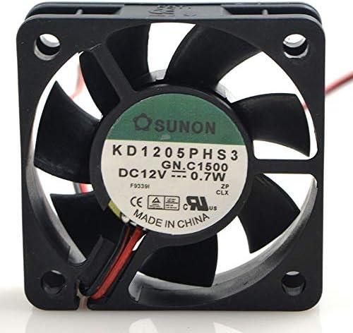 Jianzheng FOR SUNON KD1205PHS3 12V 0.7W 5CM 5015 2-wire silent cooling fan