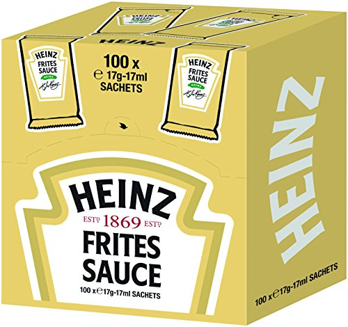 Heinz Frites Sauce , Portionsbeutel Cube , 4er Pack (4 x 17 ml)