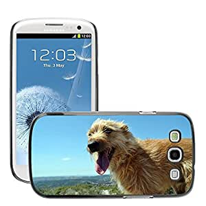 GoGoMobile Slim Protector Hard Shell Cover Case // M00124286 Dog Friend Mountain Animals Pet // Samsung Galaxy S3 S III SIII i9300