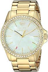 Juicy Couture Women's 1901261 Stella Analog Display Quartz Gold Watch