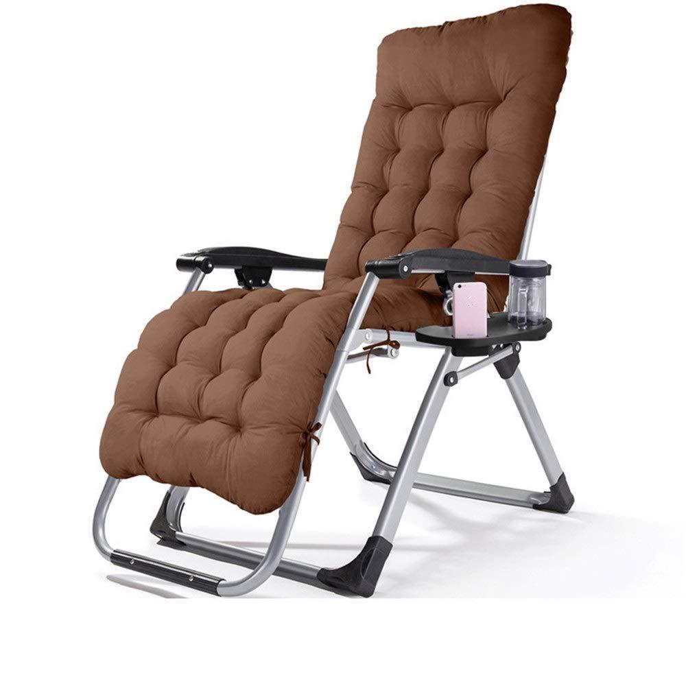 Reclinabile pieghevole Quattro stagioni Zero Gravity Chair Lounge reclinabile con cuscino rimovibile Cup Mobile Holder Sedia pieghevole regolabile portatile Office Patio Beach Pool Side sport Indoor O