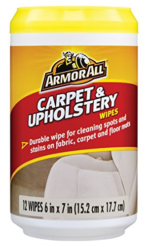 Armor All Carpet & Upholstery Wipes (12 Count) (Case of 12)