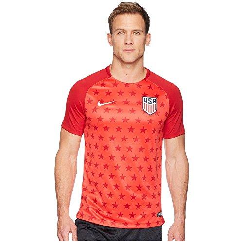 アドバンテージ雇う告白(ナイキ) Nike メンズ サッカー トップス USA Dry SQD Top Short Sleeve 2 [並行輸入品]