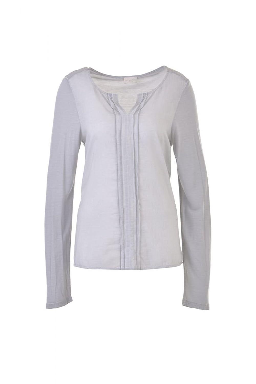 Milano Italy Damen Bluse Shirt grau