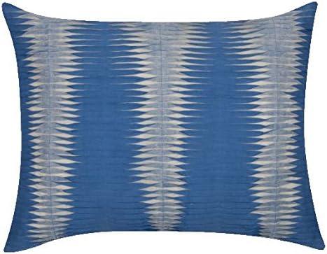 Funda de cojín azul 40 x 50 cm Con Cremallera: Amazon.es: Hogar