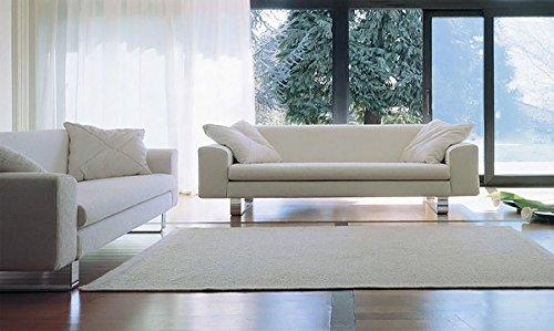 Calia Maddalena–Wohnzimmer Design City, Leder terra 2 Sitze Pelle Terra Tabacco