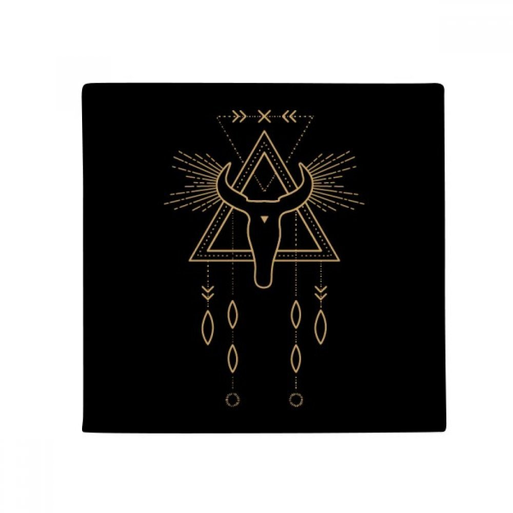 DIYthinker Geometry Alien Symbol Totem Pattern Anti-Slip Floor Pet Mat Square Home Kitchen Door 80Cm Gift