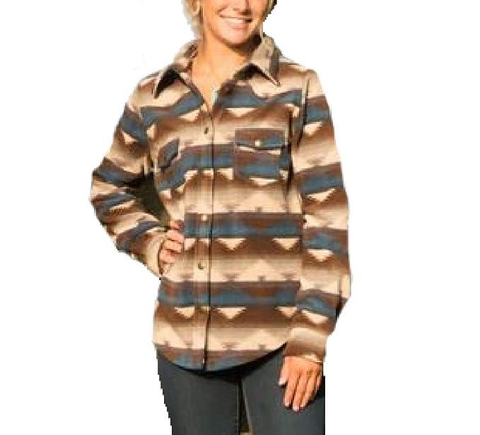 032305d8 Outback Trading Company Women's Essence Big Fleece Shirt (Large ...