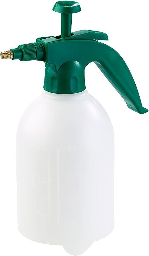 1,5L Universal Drucksprühgerät Pumpsprayflasche Sprühflasche mit Messingdüse
