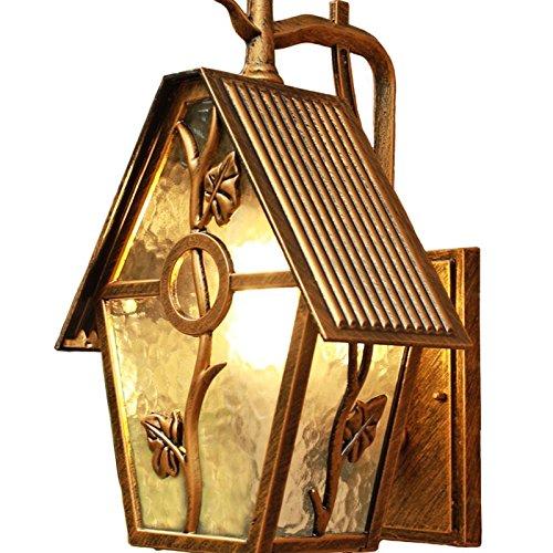 KY LEE ガーデンライト おしゃれ 照明 LED ポーチライト 玄関照明 外灯 ウォールライト ランプ 門灯 家の形 壁掛け照明 B07LD3B72X C5