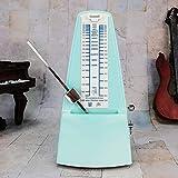ZhangSheng C510 Mechanical Metronome for Loud Sound Piano Drum Violin Guitar Bass, Track Tempo and Beat (Light green)