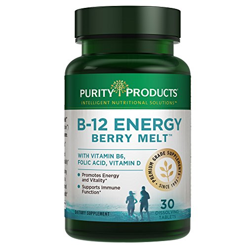 B-12 Energy BerryMelt with Super Fruits - 30 Tablets from Pu