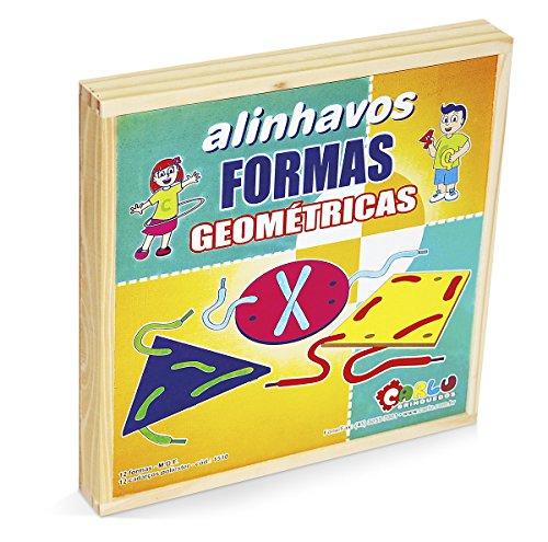 Alinhavos Formas Geométricas Carlu Brinquedos