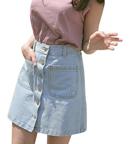Junior Girls Denim Blue Jean - 4