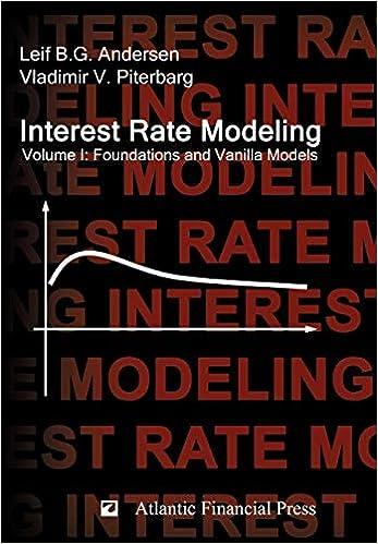 amazon interest rate modeling volume 1 foundations and vanilla