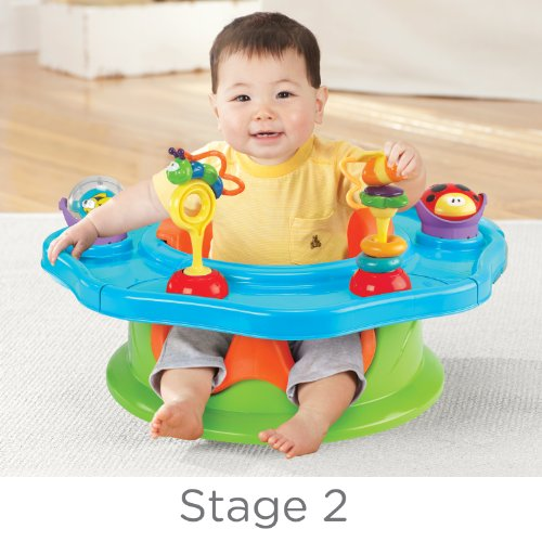 012914133309 - Summer 3-Stage Infant Super Seat Positioner Booster and Activity Seat, Neutral carousel main 2