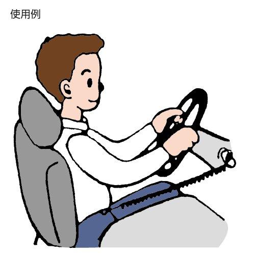 ホップ セフティホルダー 安全コード 28cm SHS-グリーン 日本製