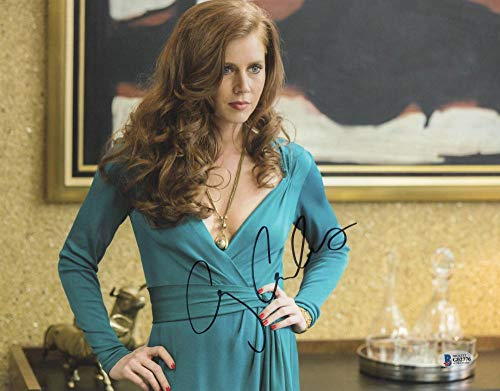 HOT SEXY AMY ADAMS SIGNED 11X14 PHOTO AUTHENTIC AUTOGRAPH BECKETT COA M