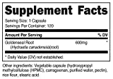 Nutricost Goldenseal Root 600mg - Non-GMO, Gluten
