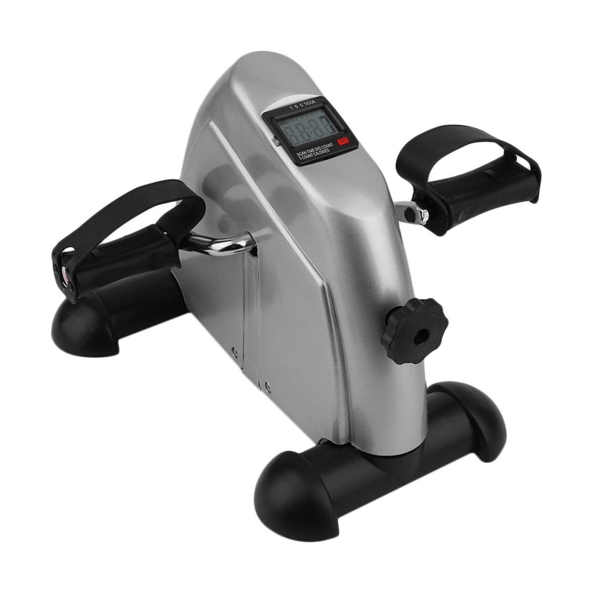 DoMoment Heimtrainer Radfahren Fitness Mini Pedal Heimtrainer LCD Display Indoor Radfahren Fahrrad Stepper Für Älteres Und Jung