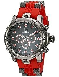 Joshua & Sons Men's JS71RD Analog Display Swiss Quartz Red Watch
