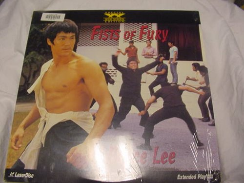 Laserdisc Bruce Lee Fists of Violence With Maria Yi, James Tien, Nora Miao, Martial Arts Kung Fu Movie. Special Widescreen Edition.