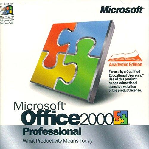 Microsoft Office 2000 Professional Academic product image