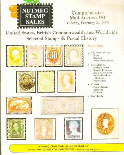 United States, British Commonwealth and Worldwide Selected Stamps, Postal History Airmail Flights: Auction 180 February 5, 2009