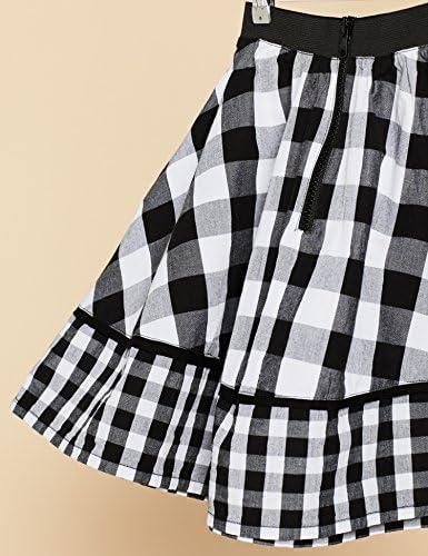 Marca Amazon - RED WAGON Falda de Cuadros Niñas: Amazon.es: Ropa y ...