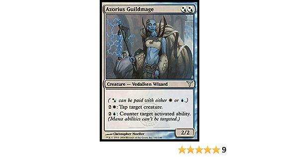English Dissension MTG Magic 4x Azorius Guildmage Light Play