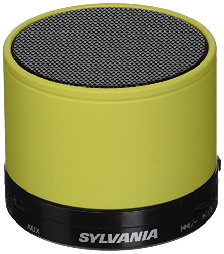 Sylvania SP631 Yellow Bluetooth Rechargeable Microphone